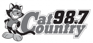 CatCountry Logo B/W white background